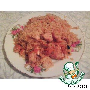 Рецепт Плов с куриным филе