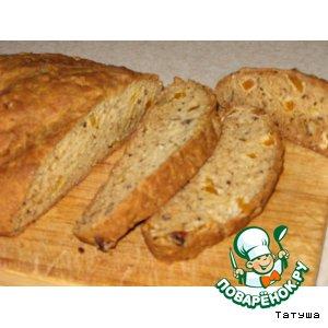 Рецепт Хлеб с курагой и орехами