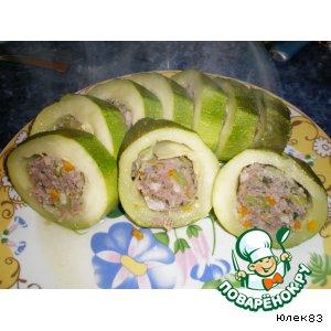 Фаршированый кабачок - гриль вкусный пошаговый рецепт приготовления с фото как приготовить