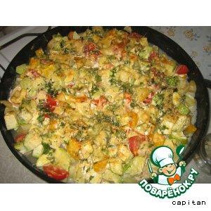 Рецепт Овощная тарелка