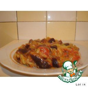 Рецепт Кадича - овощное рагу по-корейски
