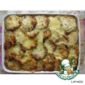 Рецепт: Кабачки, запеченные в духовке