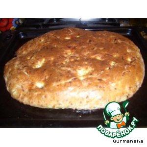 Рецепт Кабачковый хлеб с сыром и специями