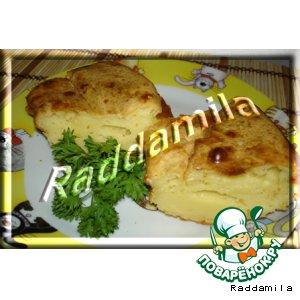 Рецепт Кекс с плавленым сыром