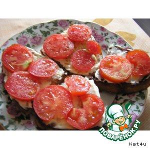 Рецепт Гренки с помидорами