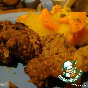 Рецепт Вариация на тему картошечки и говядинки