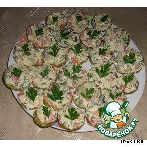 Рецепт Жареные кабачки с сыром