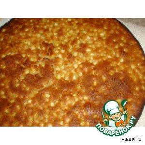 Рецепт Кукурузная лепешка с кукурузными зернами