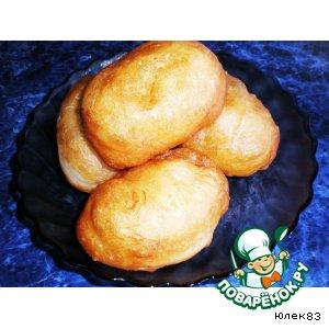 Рецепт Пирожки с картошкой жареные во фритюре