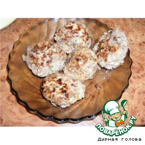 Рецепт Котлеты говяжьи с грибами