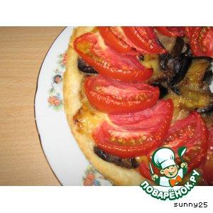 Рецепт Закусочный пирог с баклажанами