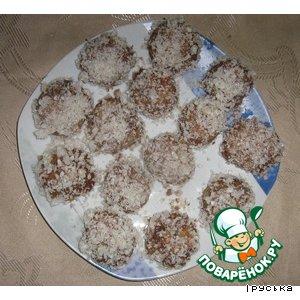 Печенье Каштаны
