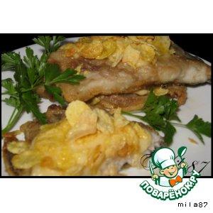 Рецепт Рыбное филе в сырно-хрустящей корочке