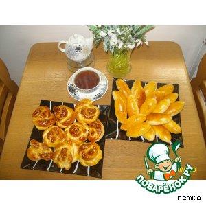 Рецепт Пирожки с сыром (брынза)