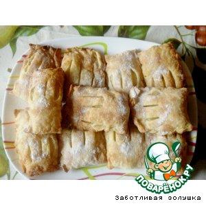 Рецепт Слойки с ананасами