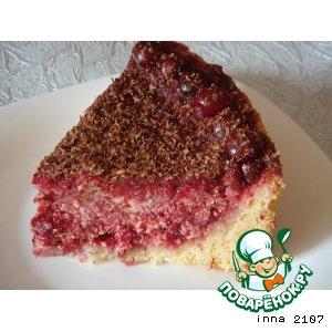 Рецепт Торт-пирог с вишней