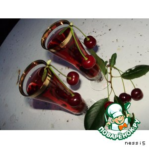 Наливка ягодная (вишневая) простой рецепт с фото пошагово как готовить