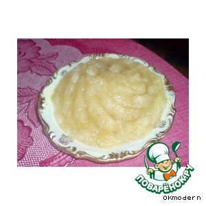 Рецепт Ароматное яблочное варенье за 10 минут