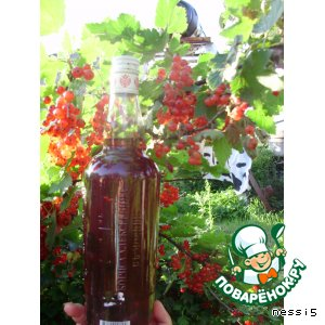Рецепт Вино из красной смородины