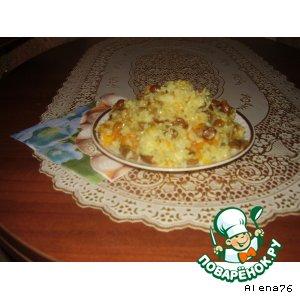 Рецепт Плов грибной