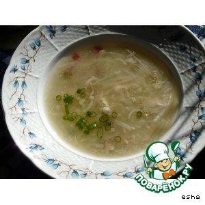 Рецепт Суп из тертого картофеля
