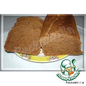 Рецепт Кофейный кекс с какао