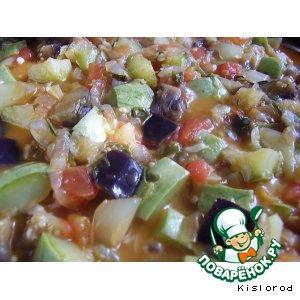 Готовим Овощное рагу по-французски пошаговый рецепт с фотографиями
