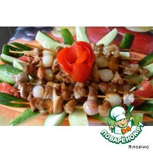 Рецепт Мини-шашлычки с абрикосом