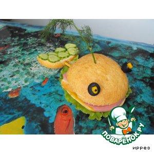 """Рецепт Чудо-юдо """" Рыба-кит"""""""
