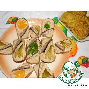 Рецепт Бабушкины бутерброды
