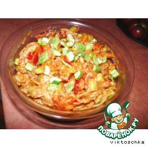 Рецепт Спагетти салат