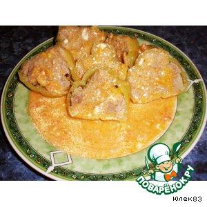 Рецепт Перцы, фаршированные мясом и рисом