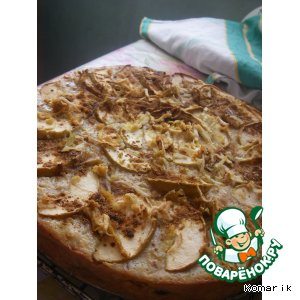 Рецепт Яблочный пирог с корицей