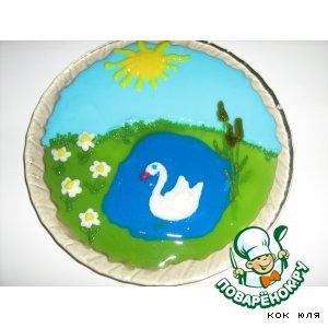 """Рецепт Заливное из овощей """"Белый лебедь"""""""