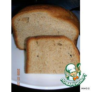 Рецепт Хлеб ржано-горчичный (для хлебопечи)