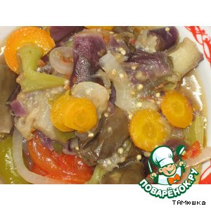 Рецепт Баклажаны «Тамань»