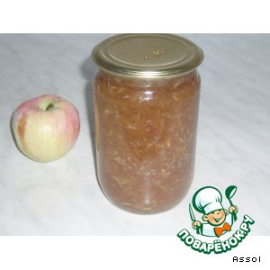jam and kiwi Jam apple Apple jam with dried apricots and almonds Apple ...