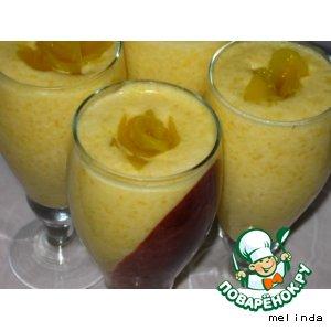 Рецепт Абрикосово-персиковый мусс