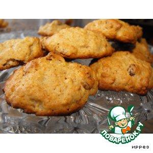 Рецепт Печенье овсяное с яблоками и не только