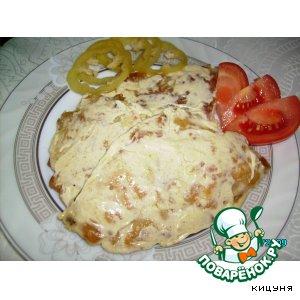 Рецепт Капуста под майнезом со специями