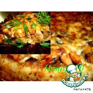 Рецепт Тарт с овощами и курицей