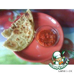 Рецепт Паратха - индийские лепешки