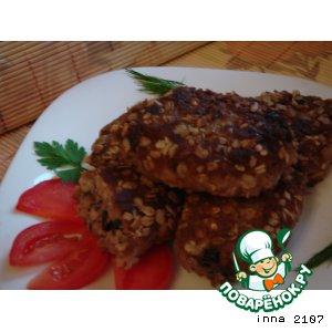 Рецепт Котлеты с рисом и базиликом