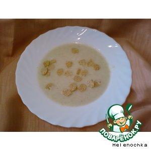 Рецепт Суп-пюре из кабачка с плавленным сырком