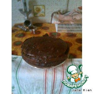 """Рецепт Торт-пирог """"Блаженство смородины"""""""