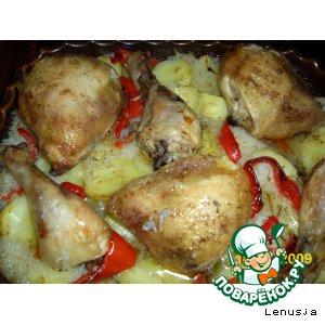 Жаркое с курочкой рецепт с фото как приготовить