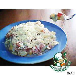 Вкусный рецепт с фотографиями Салат картофельный с кукурузой
