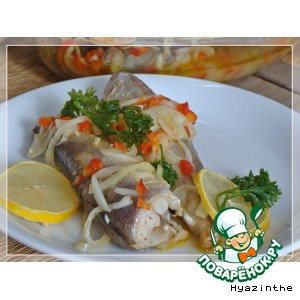 Рецепт Рыба в маринаде по-средиземноморски