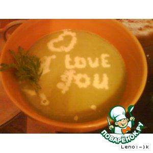 Рецепт Крем - суп с брокколи