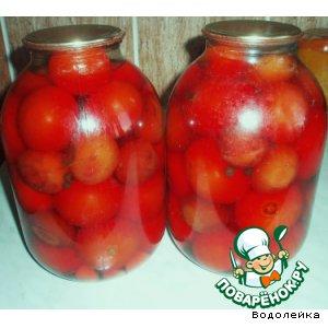 Рецепт Маринованные помидоры со сливами
